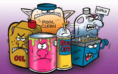 Ever wonder if the very chemicals we use to clean our homes is hazardous waste?