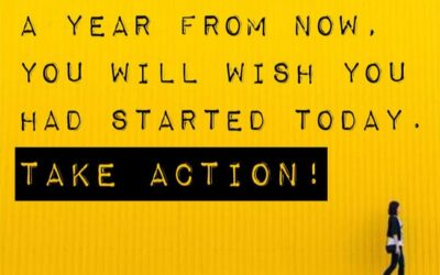 Get out there & take ACTION!